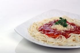 Sunny Spaghetti yang lezat di Discovery Cafe