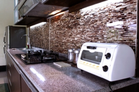 Dapur di Villa Padi