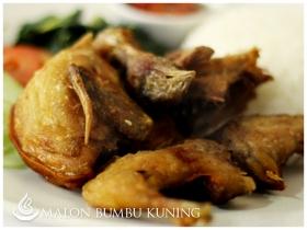 Malon Bumbu Kuning di Cupuwatu Resto