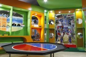 Ruang robotis untuk mempelajari teknologi robot