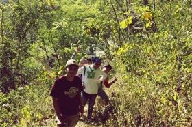 Perjalanan menuju Candi Barong