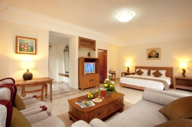 Mayang villa master bed room