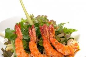 Prawn thai salad