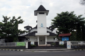 Gereja HKBP Kotabaru Yogyakarta