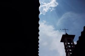 Menara gereja Baciro
