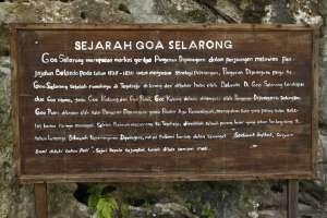 Sejarah Goa Selarong yang sebaiknya dibaca dan dihayati