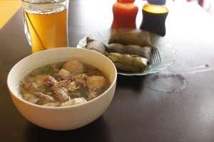 Bakso iga lunak, salah satu menu favorit di bakso Granatz Pedazz
