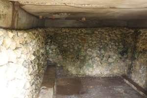 Ruang bagian dalam gua Jepang