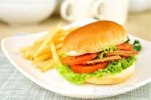 Menu Loving Hut - Burger