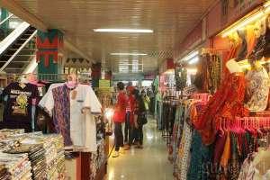 Metro, bagian jual beli yang lebih modern di pasar Beringharjo