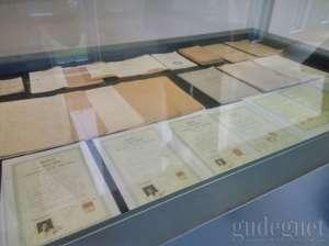 Koleksi Ijazah jaman dahulu di museum UII