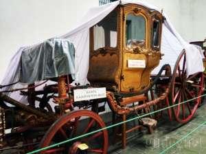 Salah satu koleksi kareta tertua yaitu Kareta Kanjeng Nyai Jimad