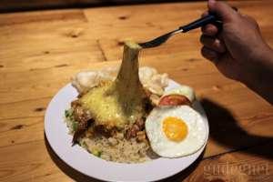 nasi goreng keju kedai roti bakar 543