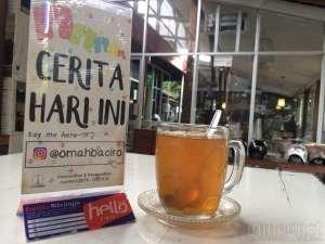 Menu Omah Baciro Yogyakarta