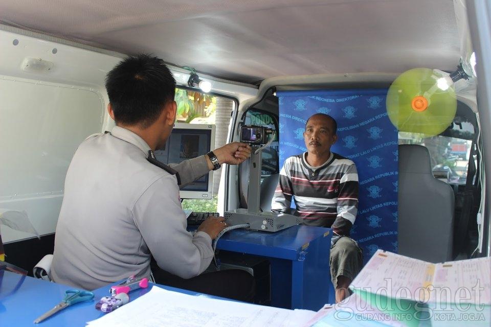 Layanan SIM Keliling Gunung Kidul Juli 2016