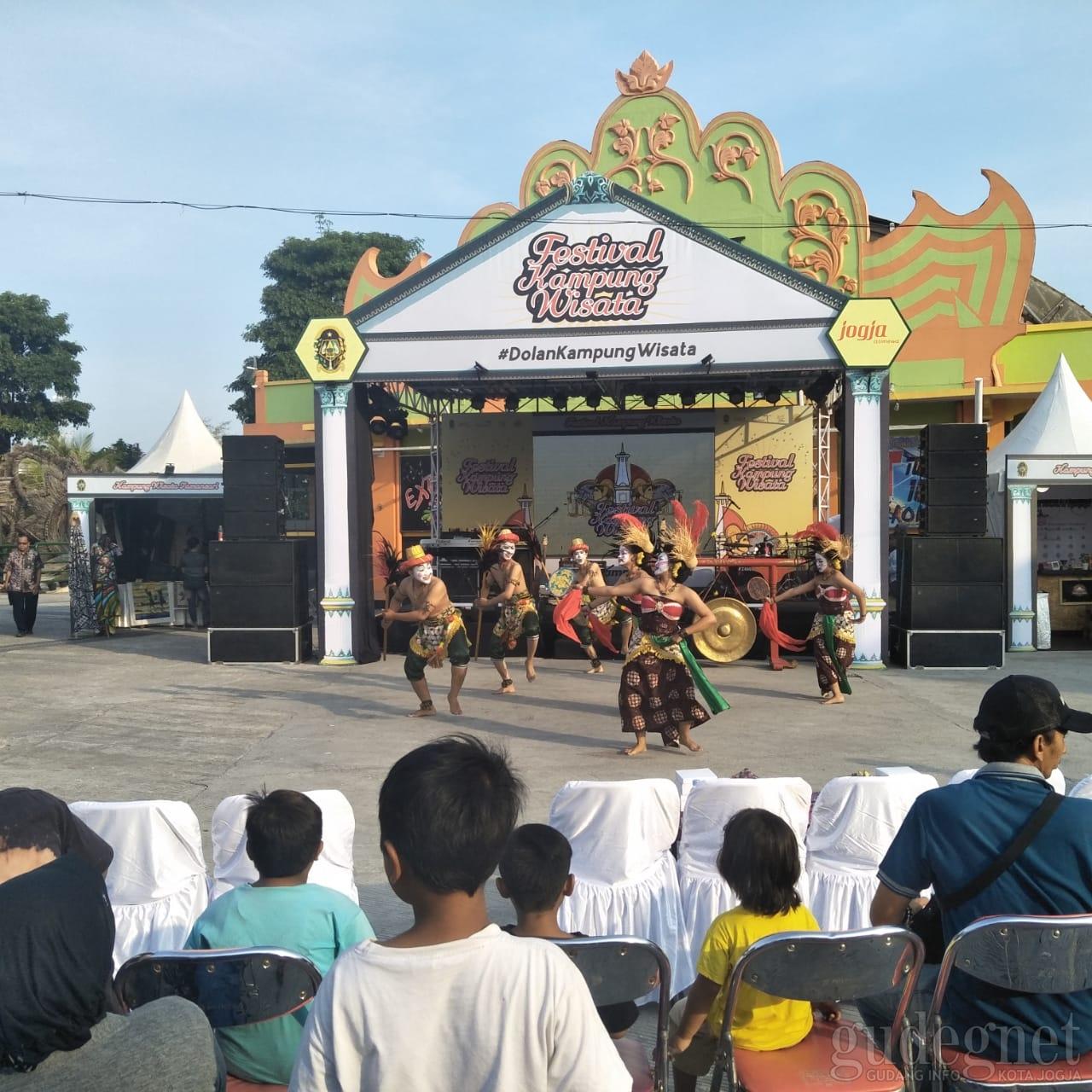 16 Kampung Wisata Unjuk Kebolehan Di Festival Kampung Wisata Yogyakarta Yogya Gudegnet