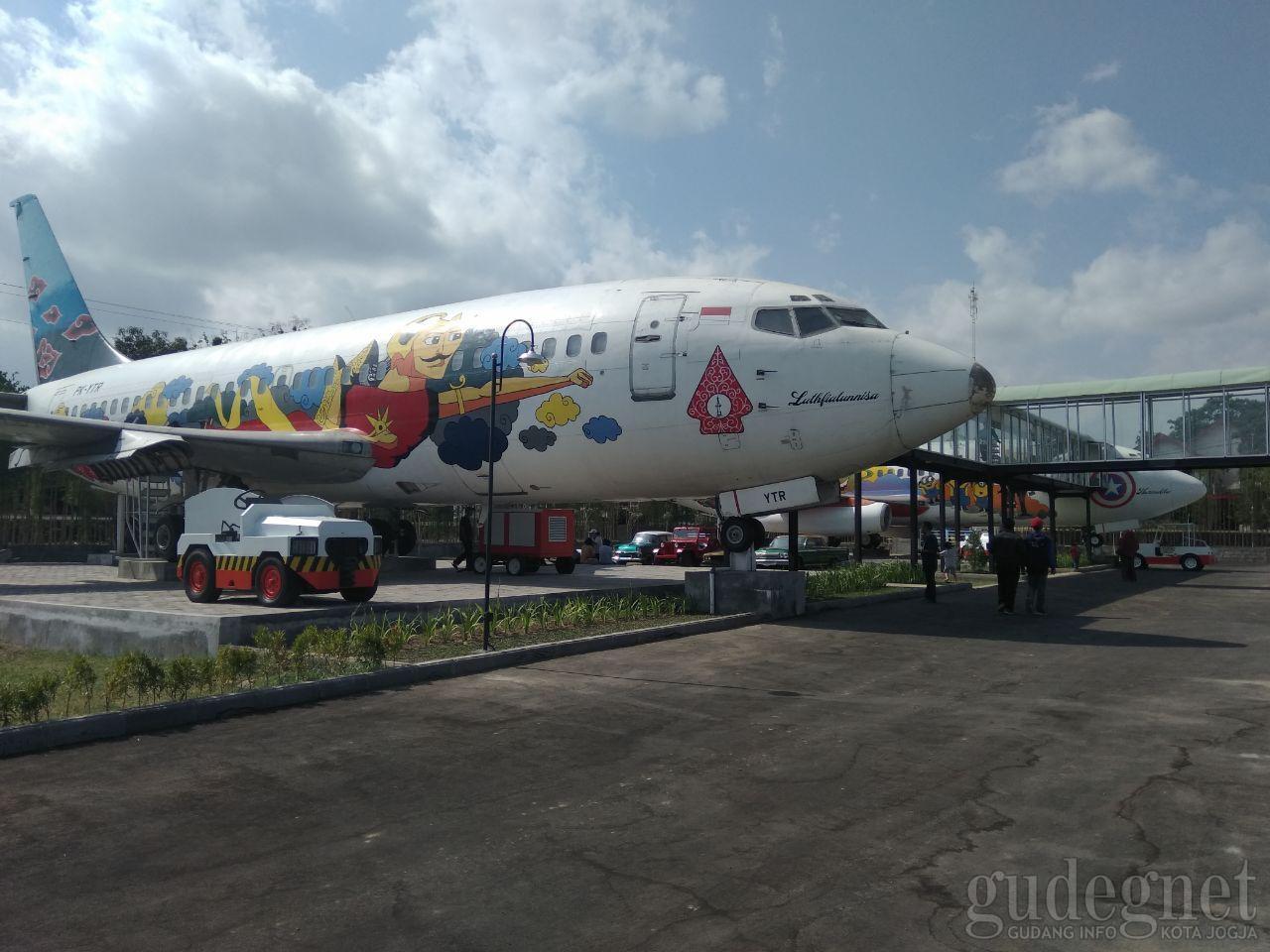 Hotel di dekat Bandara Adisucipto JOG, Indonesia.