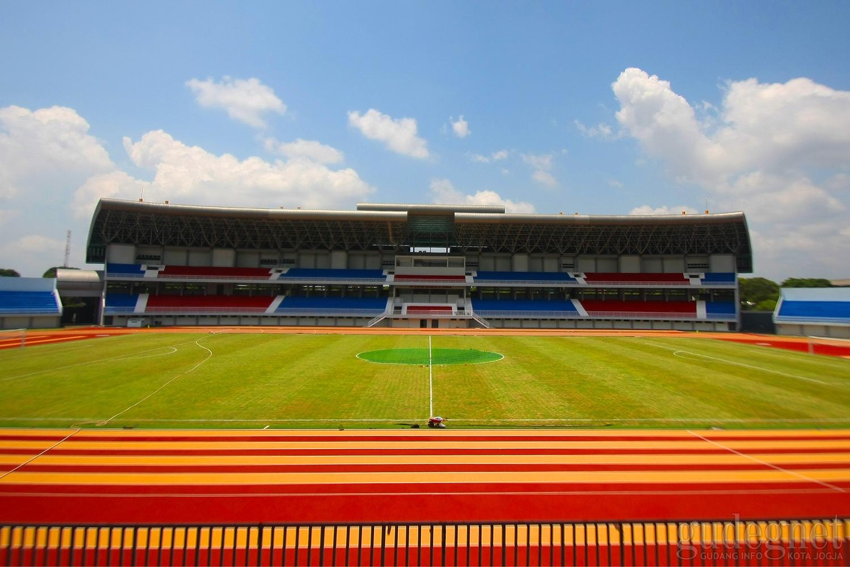 Wajah Terbaru Stadion Mandala Krida Setelah Renovasi
