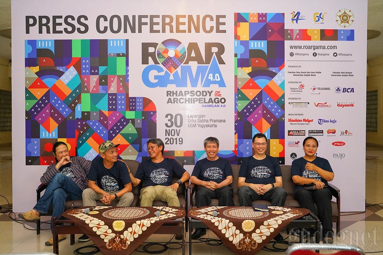 Roar Gama 4.0, Kolaborasi Gamelan dan Musik Zaman Now