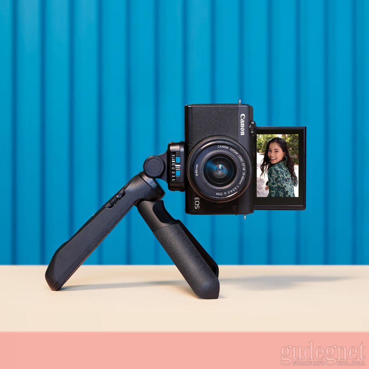 Canon Kenalkan Kamera Mirrorless Baru, EOS M200