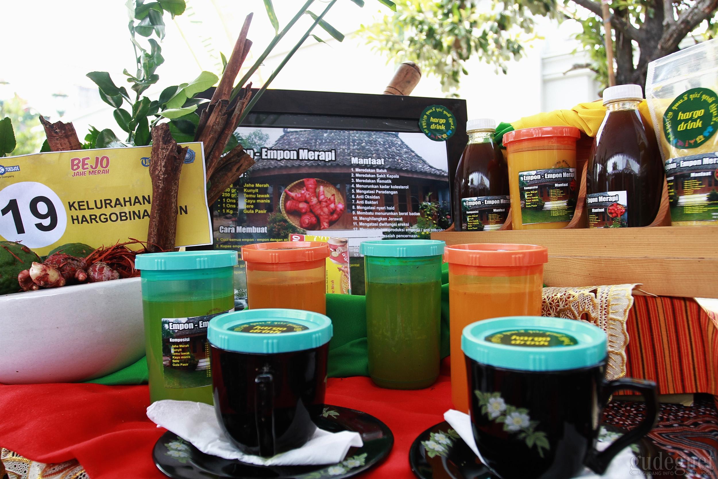 GKR Hemas Buka Lomba Taman Herbal di Kepatihan
