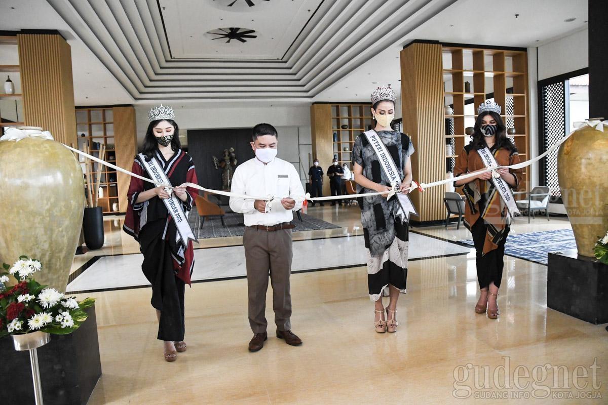 Gandeng Top 3 Puteri Indonesia, Sheraton Mustika Mulai Beroperasi Kembali