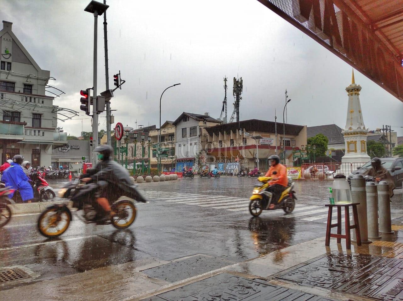 Prakiraan Cuaca Yogya Hari Ini, Sebagian Wilayah Hujan