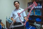 Bikin Sepeda dari Aluminium Daur Ulang