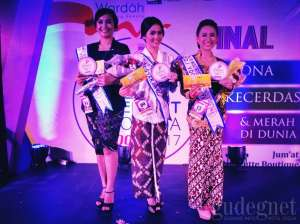 Ini Dia 3 Finalis Miss Internet yang Bakal ke Bali