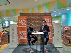Maret Extra Sale 50% + 50% di Parkson Departmen Store