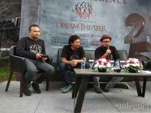 WOW, Dream Theater Bakal Konser 2 Kali di Jogja
