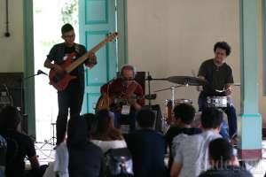 Workshop oleh Sang Legenda dan Kawan-kawan di Ngayogjazz 2017