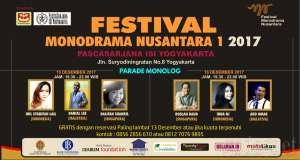 Kolaborasi 3 Negara di Festival Monodrama Nusantara