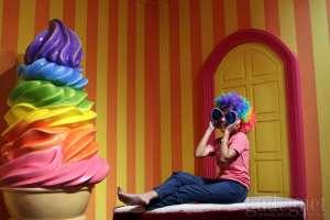 Serunya Berswafoto Sambil Menikmati Ice Cream di Ice Cream World