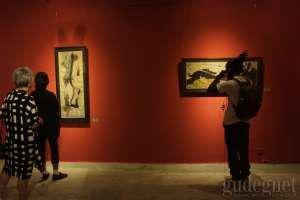"Amin Taasha, Seniman Afghanistan Gelar Pameran ""Iron Cocoon"" di ISI Jogja"