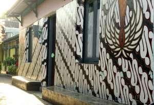 Mural Batik Percantik Kampung Trunojayan Kotagede