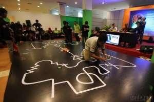 Ratusan Pelajar Adu Strategi Di Ajang Kontes Robot Pintar Yogyakarta