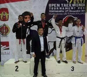 Kejuaraan Taekwondo Tingkat Nasional, UAJY Borong Medali