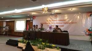 KPU DIY Gelar Rapat Pleno Rekapitulasi DPTb