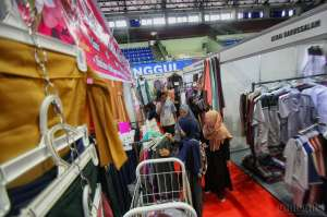 Jogja Islamic Fashion Fair Hadirkan Puluhan Stand Busana Muslim di UNY