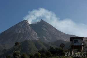 Gunung Merapi Kembali Gugurkan Awan Panas
