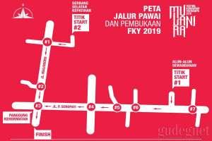 Besok Pembukaan FKY, Hindari Jalur Kemacetan Ini