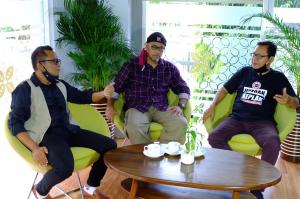 Sambat Show: Ajang Seniman Ngobrol Santai, Jaga Kewarasan di Tengah Pandemi