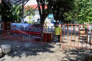 Malioboro Mulai Berlakukan Pengaturan Jalur Pejalan Kaki