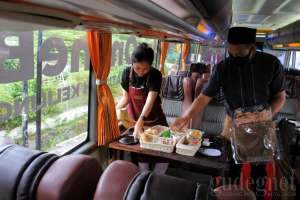 Coffee on The Bus, Sensasi Ngopi Keliling Yogyakarta di Tengah Pandemi