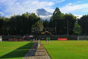 Kepuharjo Sport Centre, Lapangan Bola di Lereng Merapi
