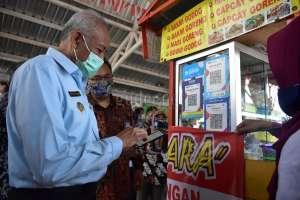 Galakkan Pembayaran Nontunai, Sleman Digitalkan PKL Denggung