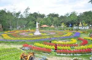 Puri Mataram, Resto dan Wahana Wisata yang Instagramable