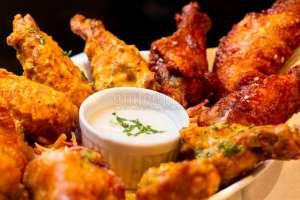 Cemilan ala Café , Buffalo Chicken Wings Renyah Tanpa Goreng