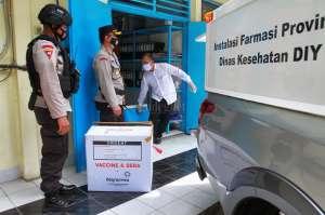 Sleman Terima 10.000 Dosis Vaksin Sinovac Tahap Pertama